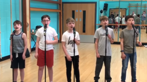 Young Boy Band Sings
