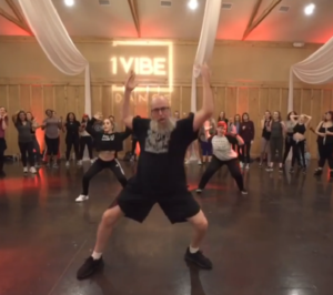 mike alancourt dancing