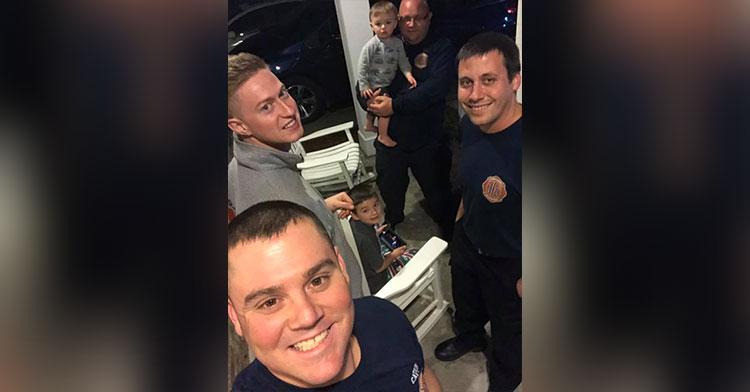 firefighter babysitters