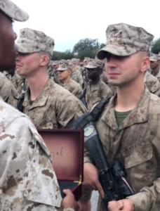 marine ceremony