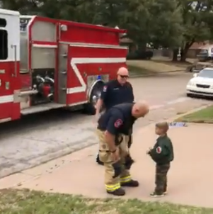 firefighters and connor