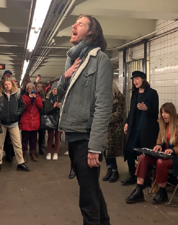 hozier nyc subway