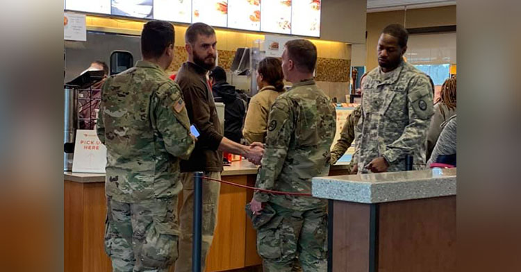 chick-fil-a soldier