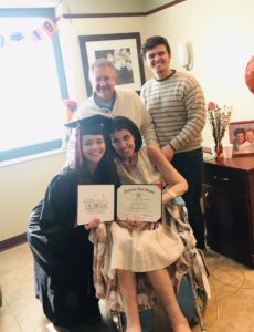 abby's special graduation