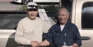 adrian and the suspect's grandpa