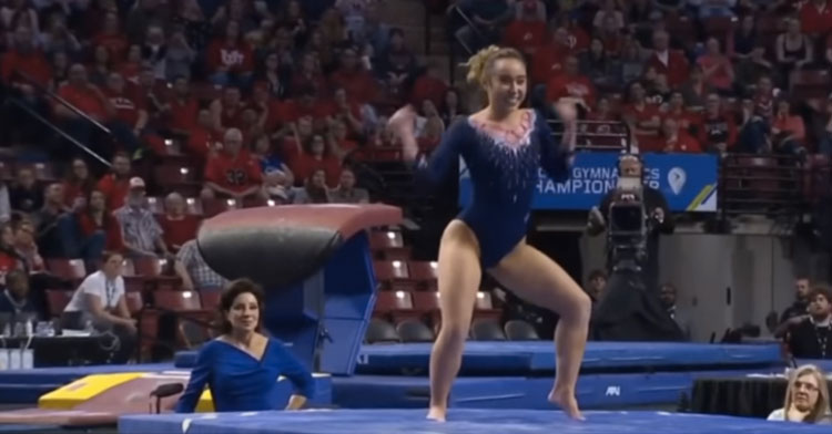 Ucla Gymnast Katelyn Ohashi Gets Another Perfect 10