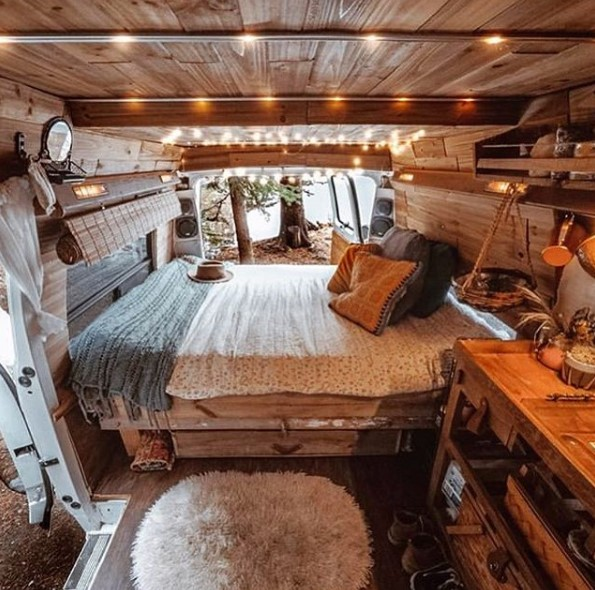 camper van remodel