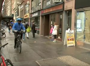 alou on his bike