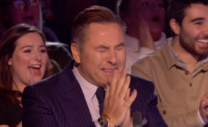 walliams tears up
