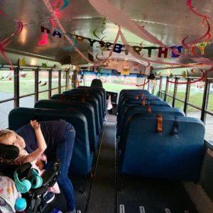 birthday party on wheels