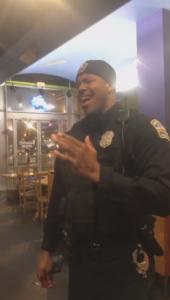 officer norwood sings