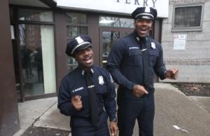 singing cops