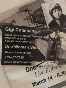 gigi coleman one woman show