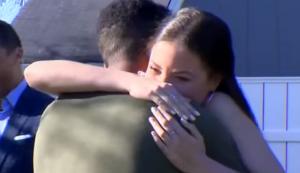 jaelin hugs maddie