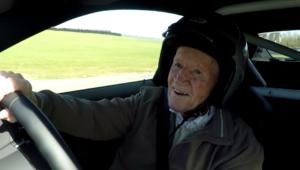 richard drives race car