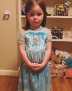 lucy jo's elsa nightgown