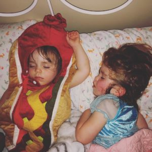 norah and lucy jo bedtime costumes