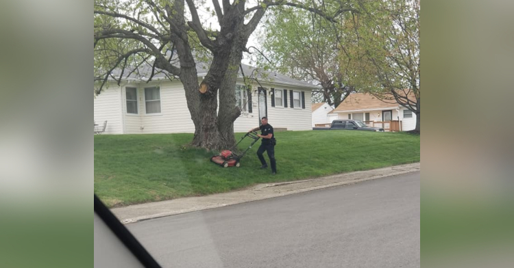 officer banks lawn