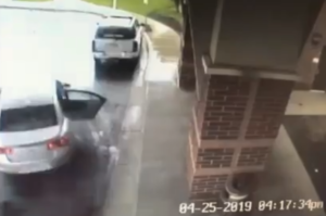 carjacking security footage