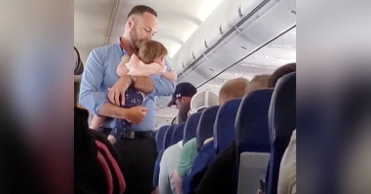 flight attendant baby