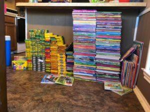 gracie coloring books