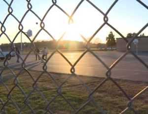 """""""4 Angels"""" See Man Lying On Basketball Court— Realize He's Not Breathing & Rush To Help."""