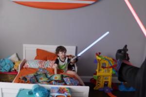 dad star wars prank