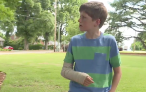 aaren fractured wrist