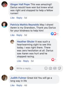 darius facebook comments