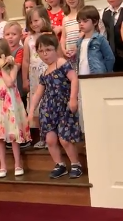 lily dancing preschool graduation