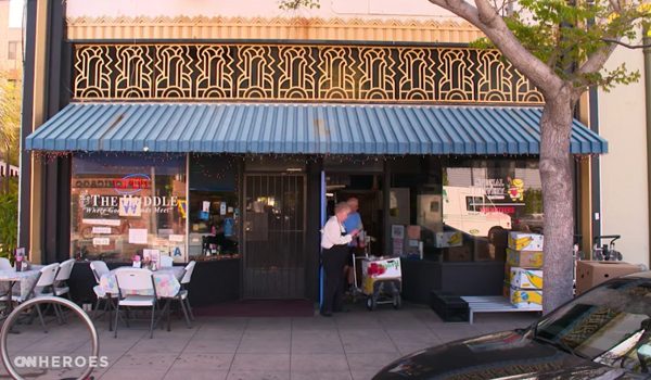 Diner Owner Cooks & Delivers Over 1 Million Meals For People Too Sick To Leave Home.