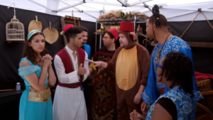 James Corden S Quot Aladdin Quot Crosswalk Musical With Will Smith