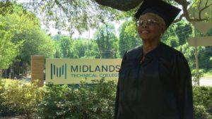 elderly graduates