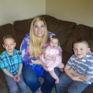 ashley and kids