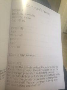 pre-k cookbook