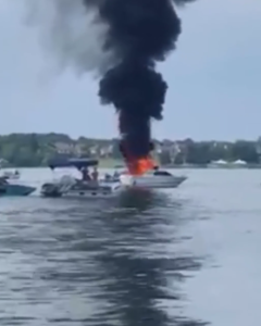boat fire rescue dallas