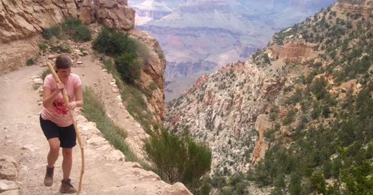 blind grand canyon