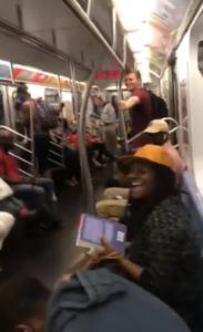 backstreet boys ny subway