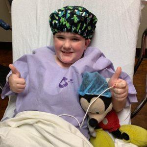 bean boy spina bifida