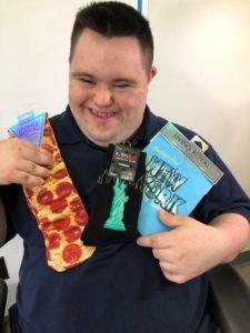 john loves crazy socks