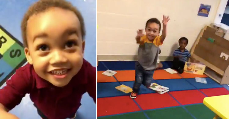 preschool pickup video