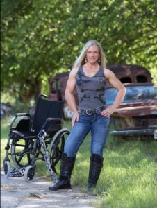 no more wheelchair for vicki