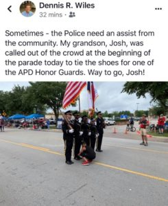 honor guard facebook post