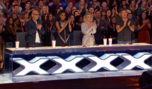 agt standing ovation