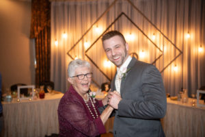 grandma and groom