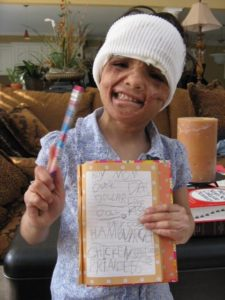 Badly Burned Girl's Life Turns Around With Mom's Sacrifice — And A Stranger's Love.