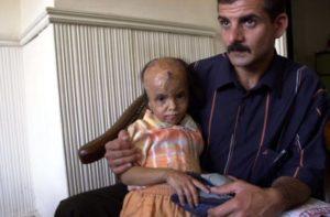 teeba and dad in iraq