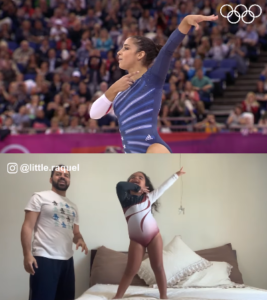 father daughter gymnastics