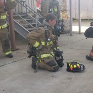firefighter spencer caradine