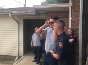 firefighter sees color